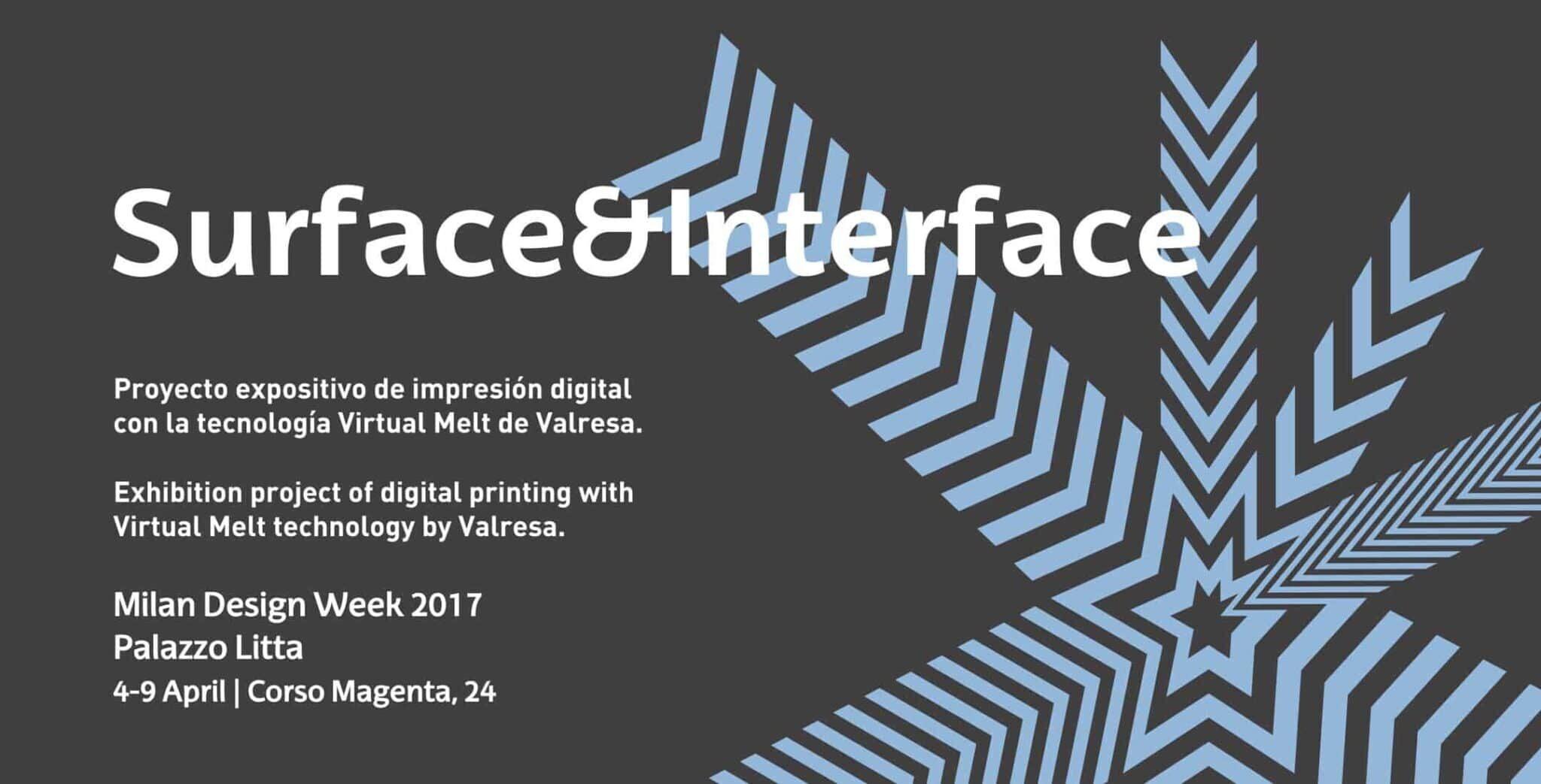 Surface&Interface by Valresa during the Milan Design Week