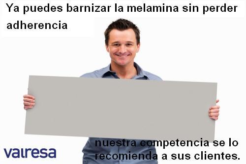 Imprimación adherente para melamina - Valresa.com